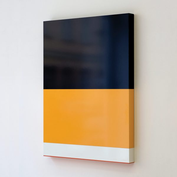 USA poverty rate by race, 2009, Formica sobre madera 110 x 82 x 7 cm