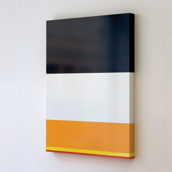 USA prison population by race, 2009, Formica on wood 110 x 82 x 7 cm