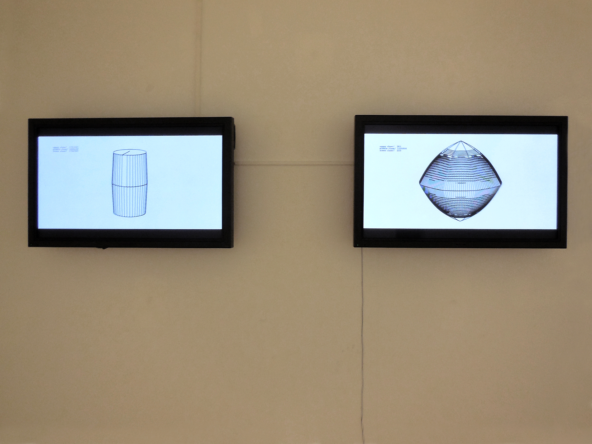«Class Geometry», 2011, View of the installation at SAC, S/C de Tenerife, 2014