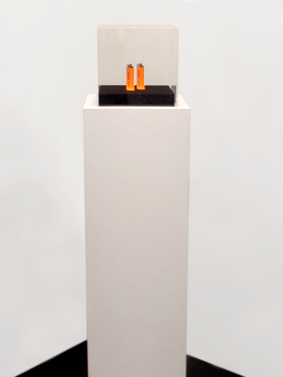 «Out of context, inside the market», 2005, Fetish lighters 1,000,000 euros