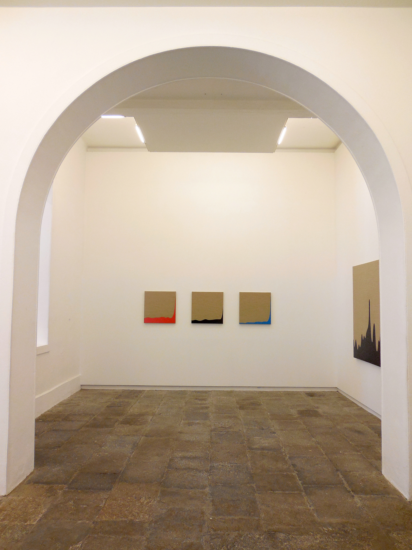 View of the exhibition at Manuel Ojeda Gallery. Las Palmas de GC, 2015.