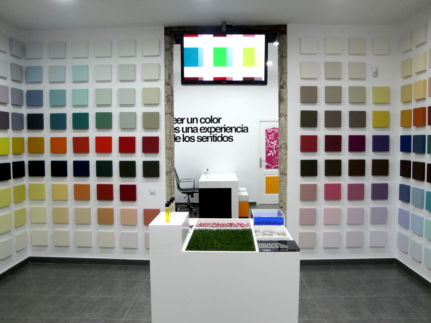 «Synesthesia», 2011, View of the installation