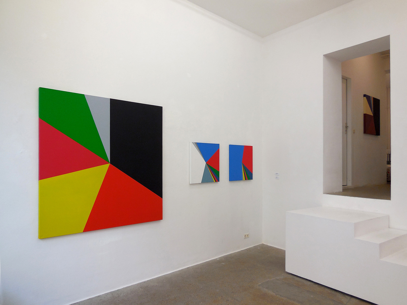 View of the exhibition at Whiteconcepts Gallery, Berlin, 2014.