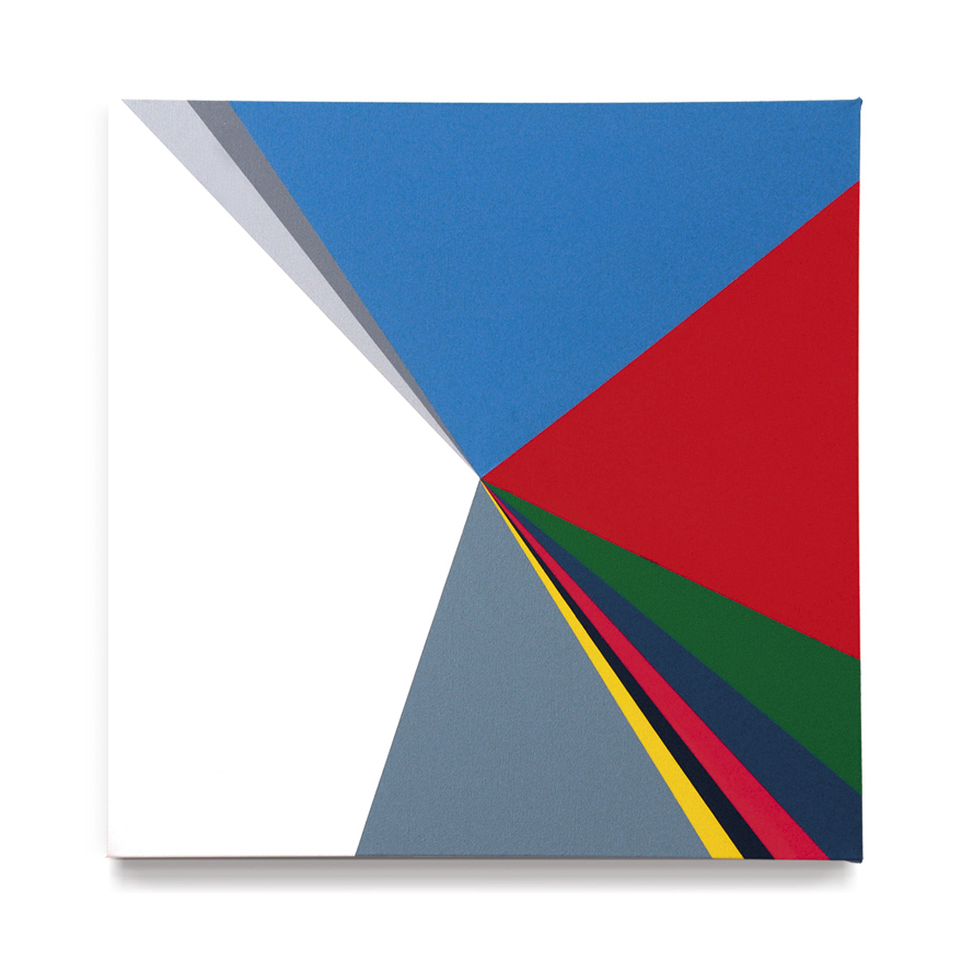 «General elections in Spain 2011 (parties, abstention, null and blank votes)», 2013, Acrylic on canvas, 60 x 60 cm.